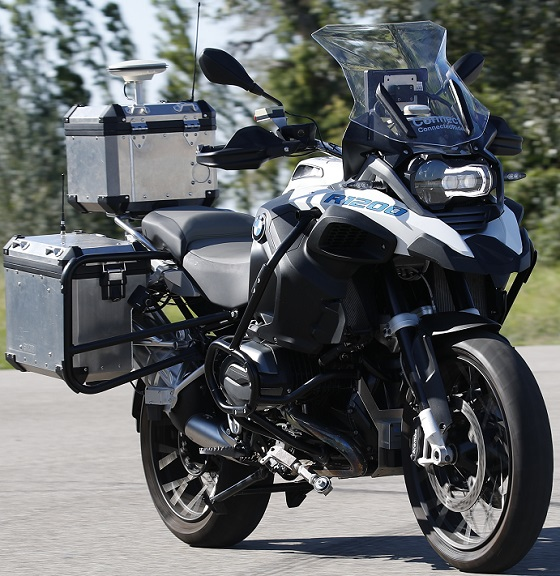 BMW R1200GS autonoom 18 rv