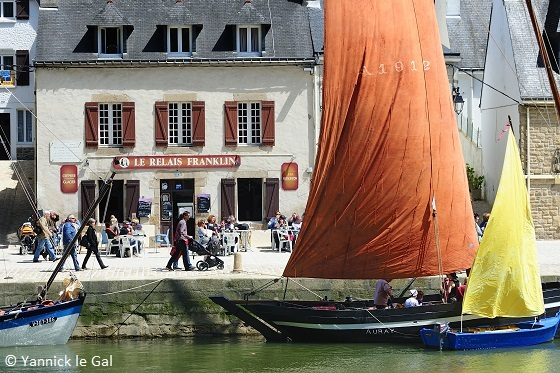 Auray Saint Goustan haven