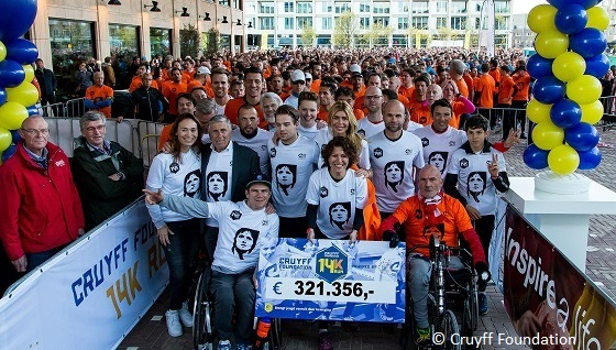 Cruyff Foundation 14K Run 18