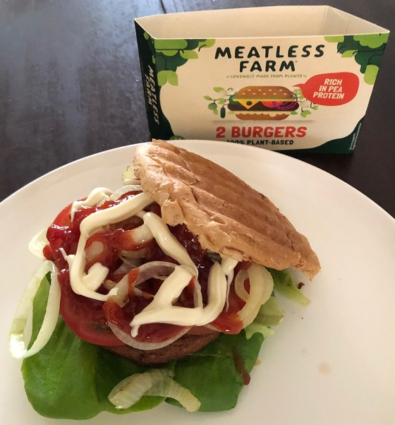 Meatless Farm hamburger 21