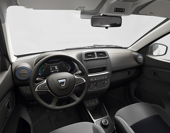 Dacia Spring Electric 20 dash
