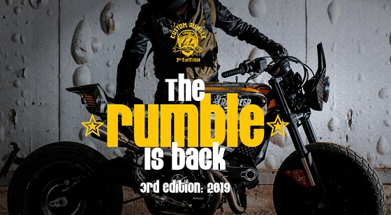 Ducati Custom Rumble 19 poster