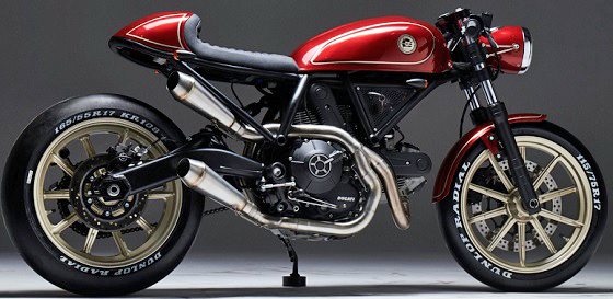 Ducati Custom Rumble Finalist 2018 ESG Rumble 400