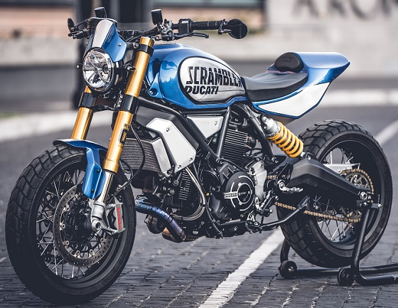 Ducati Scrambler Custom Rumble 20 winner lv