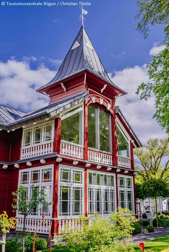 R gen duits eiland vol architectuur en natuur for Villa sellin rugen