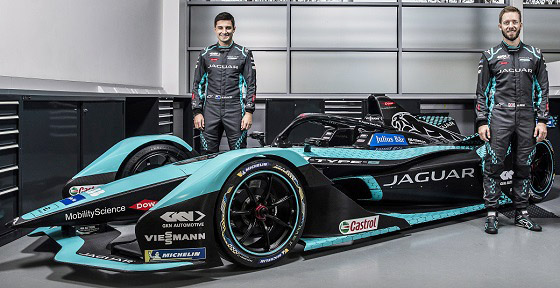 Jaguar Racing FE 21 Mitch Evans Sam Bird