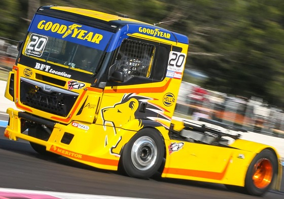 Goodyear truckracing 19 MAN 20