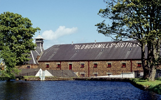 Causeway Coastal Road The Old Bushmills Distillery