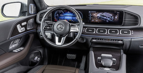 Mercedes Benz GLE 18 dash