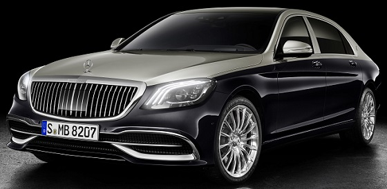 Mercedes Maybach S Klasse 18 lv