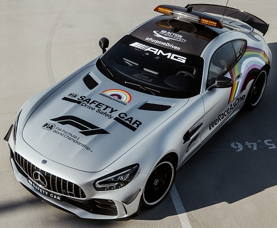 Mercedes AMG GT R F1 Safety Car 20 lv