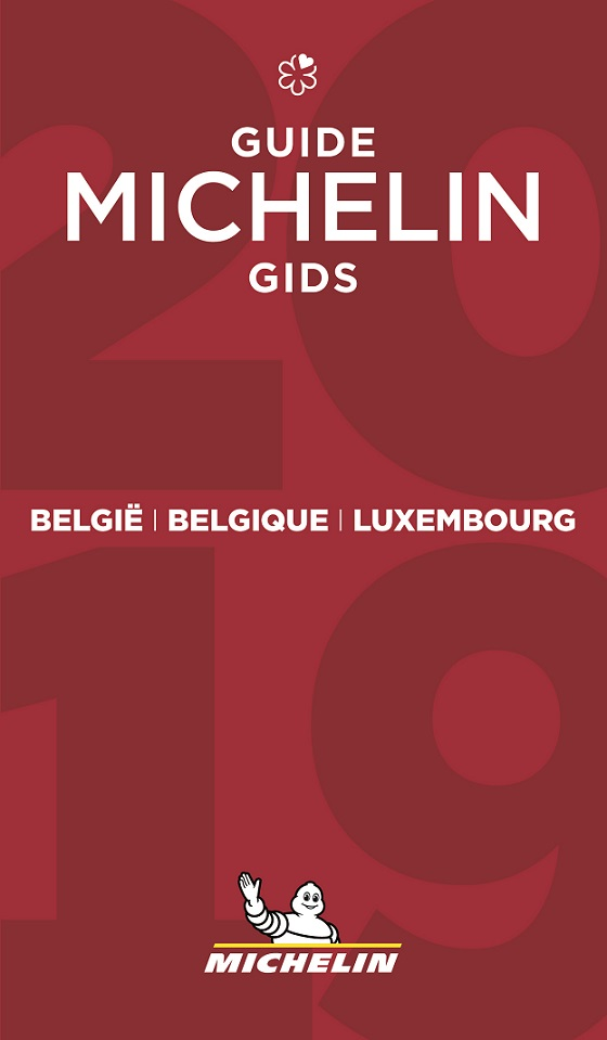 Michelin Gids Belgie Luxemburg 2019 cover
