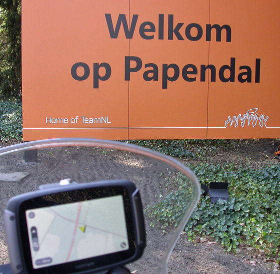 TomTom Rider 550 18 Papendal
