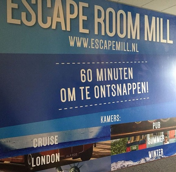 Hotel Mill Escaperoom 18 poster