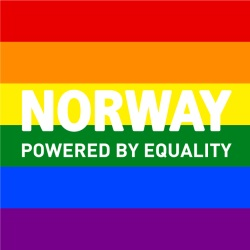 Noorwegen Powered by Equality logo