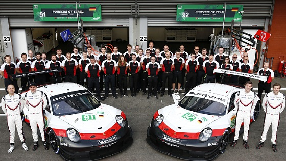 Porsche SuperSebring 19 teams