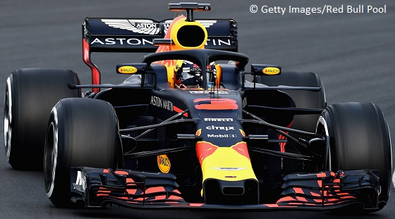 Red Bull RB 14 18 neus test Catalunya