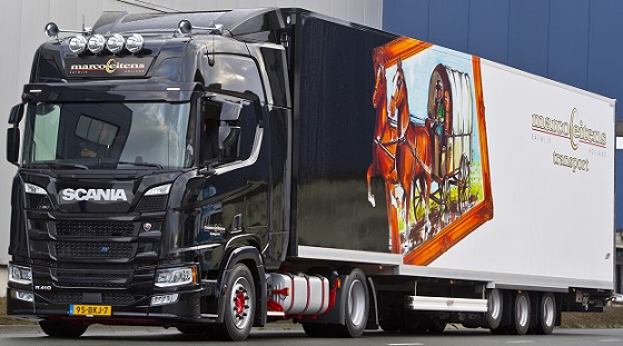 Scania R410 NG 18 Eitens